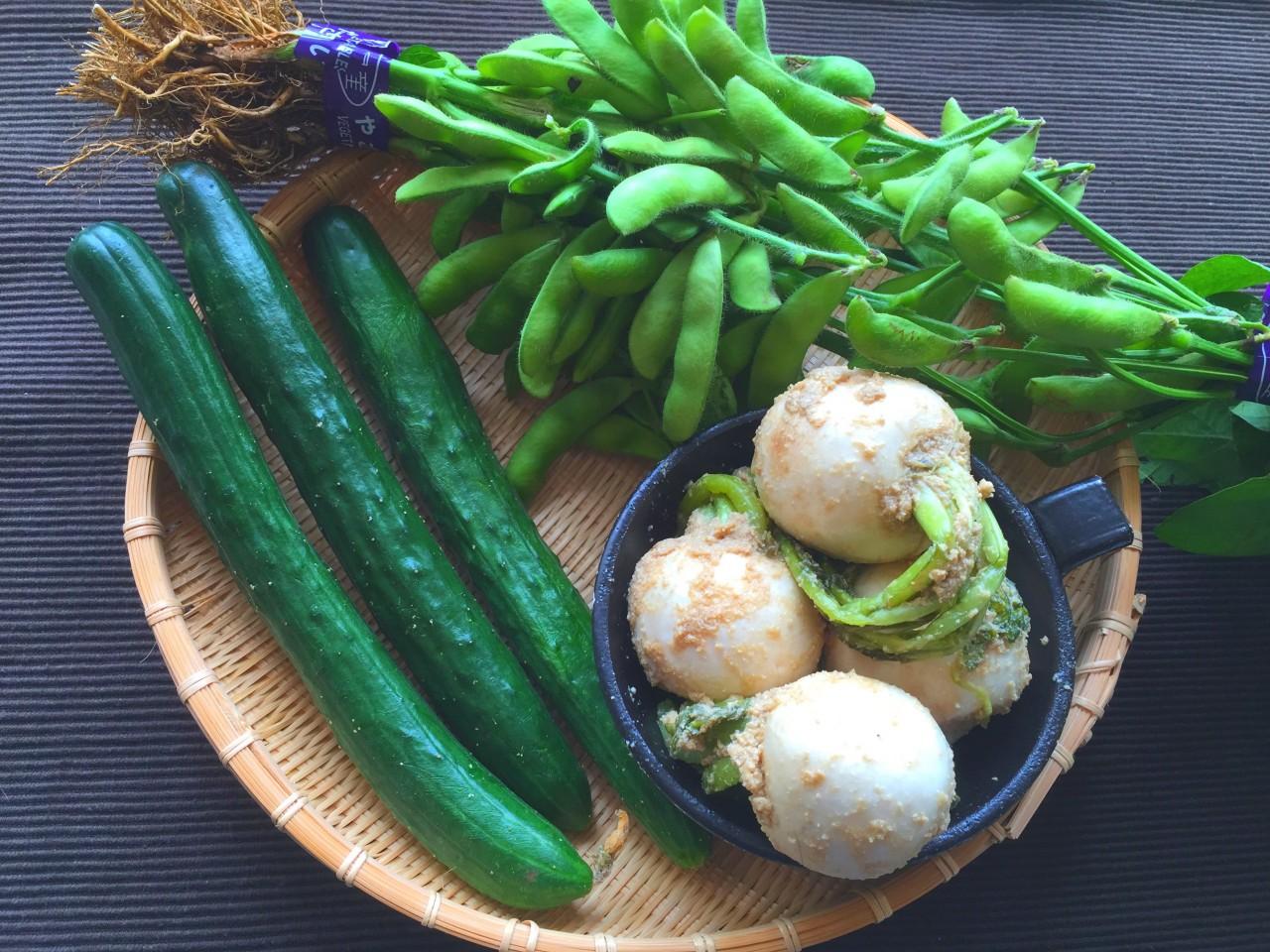 農家直売「金子さんちの新鮮野菜」